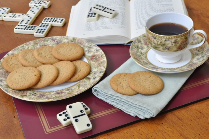 Ginger Nut Biscuits, Dominoes, and Psmith in the City